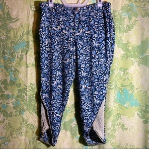 Free People Unique Floral Pants